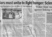 Scholars Unite to Fight Hunger