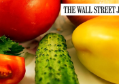 Featured Image: Wall Street Journal - Vegetarians Reduced Cancer Risk